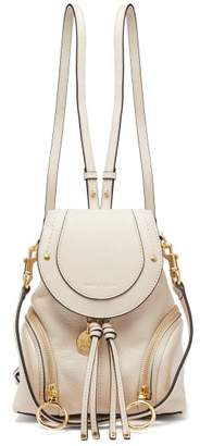 See by Chloe Olga Grained Leather Backpack - Womens - Cream