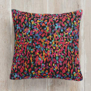 Colorful marks Self-Launch Square Pillows