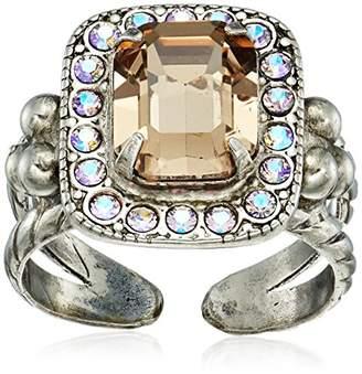Sorrelli Women's Opulent Octagon Ring