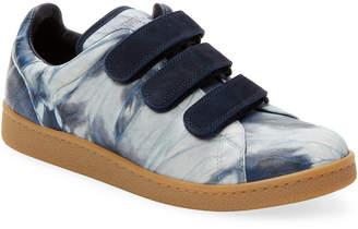 Jerome Dreyfuss Tie-Dye Leather Sneaker