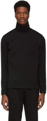 Jil Sander Black Jersey Turtleneck