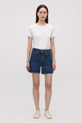 Cos HIGH-WAISTED DENIM SHORTS