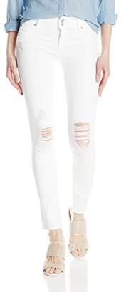 Hudson Women's Collin Midrise Skinny Denim Flap Pocket