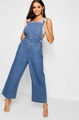 boohoo Cropped Wide Leg Overall