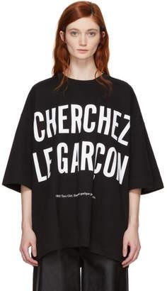 Etudes Black Cherchez Le Garcon Desert T-Shirt