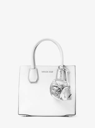 MICHAEL Michael Kors Origami Rose Leather Key Chain