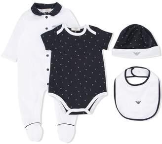 Emporio Armani Kids Peter Pan collar pyjamas
