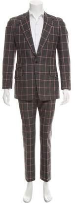 Paul Smith Window Pane Wool Suit