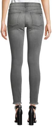 DL1961 Premium Denim Emma Skinny Leg Fray-Hem Smart Denim Jeans