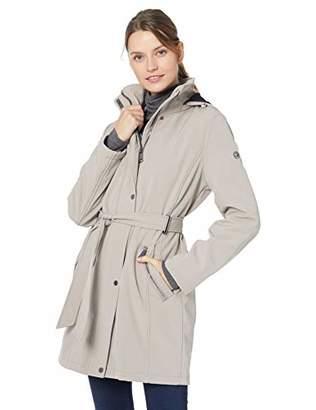 Calvin Klein Women's Soft Shell Water Resistant Rain Jacket