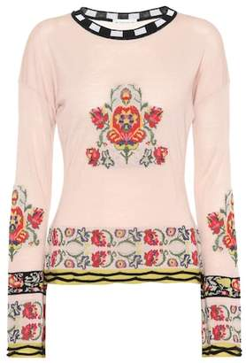 Etro Wool and silk-blend sweater