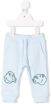 Kenzo logo embroidered track pants