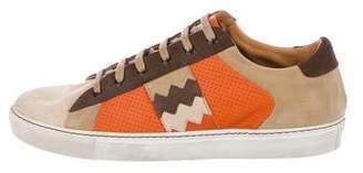 Missoni Suede Low-Top Sneakers