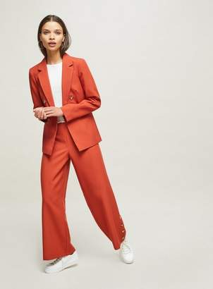 Miss Selfridge Petite rust blazer