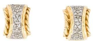 John Hardy 18K Classic Chain Stud Earrings