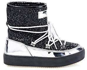 Chiara Ferragni Women's Glitter Snow Boots