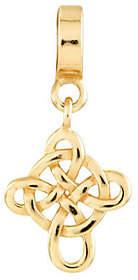 Celtic Prerogatives Gold-Plated Sterling CrossD