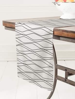 Deny Designs Fuge Stone Table Runner