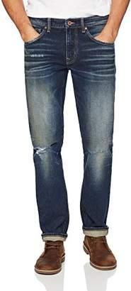 Denim Garage Classics Men's Relaxed Straight Leg Stretch Jean 34X36