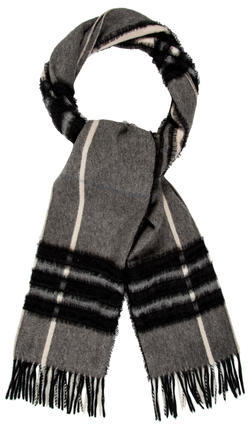 Burberry Burberry Cashmere Lace-Trimmed Scarf