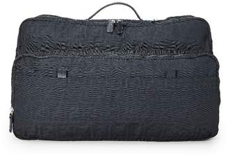 Fendi Black Zucca Canvas Weekender Bag