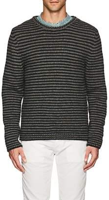 Massimo Alba Men's Striped Alpaca-Blend Crewneck Sweater