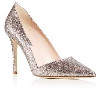 Sarah Jessica Parker Women's Rampling Glitter Pointed Toe Pumps - 100% Exclusive