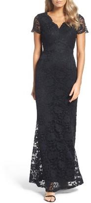 Women's Ellen Tracy Lace Gown $218 thestylecure.com