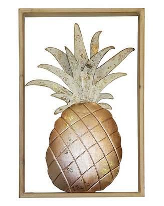 Chelsea Pineapple Metal Frame Wall Art