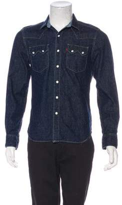 Levi's Denim Button Shirt