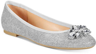 Badgley Mischka Cabella Evening Flats Women's Shoes