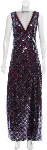 Marc JacobsMarc Jacobs Sequin Evening Gown