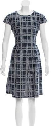 Armani Collezioni Plaid A-Line Dress w/ Tags
