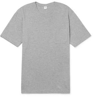 Aspesi Mélange Cotton-Blend Jersey T-Shirt