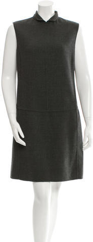 prada Prada Wool Shift Dress