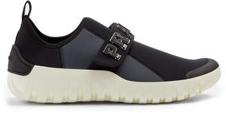 Prada Frog neoprene low-top trainers