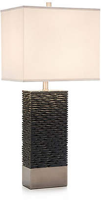 John-Richard Collection Stacked Table Lamp - Bronze/Nickel