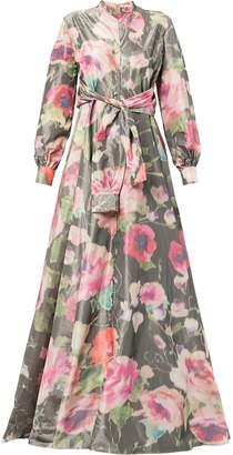 Alexis Mabille long floral gown