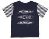 Andy & Evan Blueprint T-Shirt