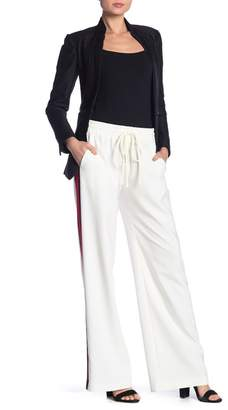 Milly Drawstring Waist Track Pants