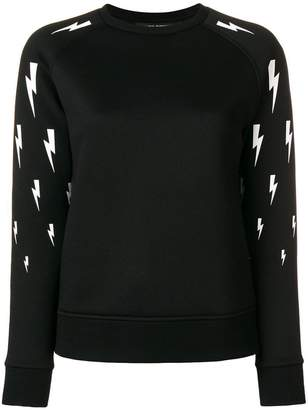 Neil Barrett storm sign sweatshirt