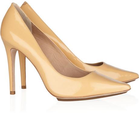Pour la Victoire Loelle patent-leather pumps