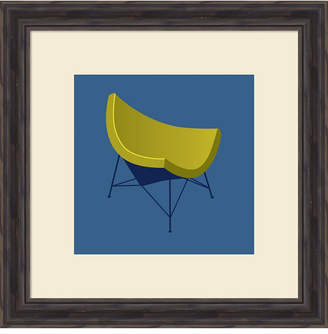Amanti Art Mid Century Chair I Framed Art Print
