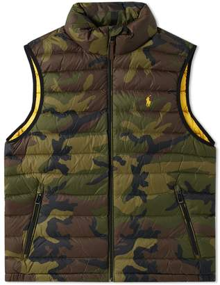 Polo Ralph Lauren Camo Lightweight Down Gilet