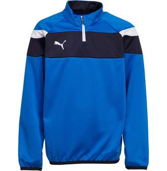 Puma Junior Boys Spirit Ii 1/4 Zip Training Top Royal/White