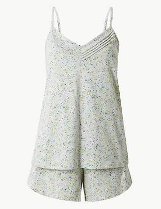 Marks and Spencer Strappy Camisole Short Pyjama Set