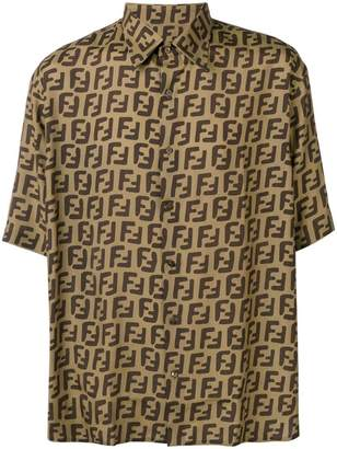 Fendi FF logo shortsleeved shirt