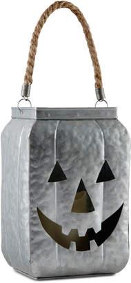 Home Essentials Metal Jack-o-Lantern Candle Holder