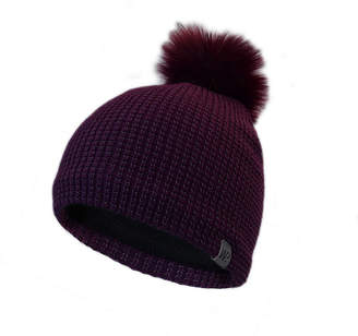 Winter Proof WinterProof Reflective Beanie with Faux Fur Pom