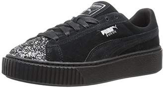 Puma Women's Suede Platform Crushed Gem